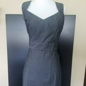 Guess Pinstripped Mini Work Dress, sz. S